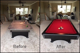 expert pool table repair in Raymond content img2