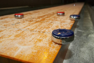 SOLO® Shuffleboard Movers Raymond, Washington.